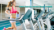 Fitness Exercise Fun with Cheap Treadmill