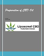 Preparation of cbd oil by CBD Oil - issuu