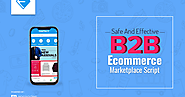Safe And Effective B2B Ecommerce Marketplace Script For Online Business