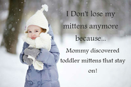 Toddler Mittens That Stay On
