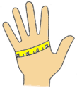Measuring your Hand for Gloves