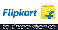 Flipkart Offers → Upto 90% OFF Flipkart's Shopping Offers - OffersGenie