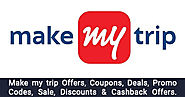 MakeMyTrip Offers → Upto 50% OFF MakeMyTrip's Hotel & Flight Offers - OffersGenie