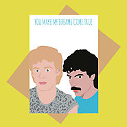 Hall & Oates Valentine's Day Card