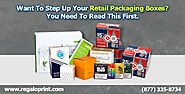 Retail Packaging Boxes by RegaloPrint