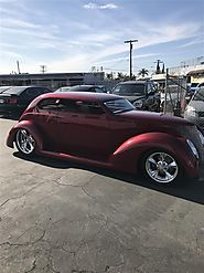 1937 Ford Custom SLantback for Sale : The Motor Masters