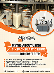 Myths about using six-pack plastic rings for craft beer