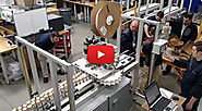 Six Pack Ring Machine - 225 cans per minute