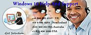 1-855-490-3999 Windows 10 Help and Support