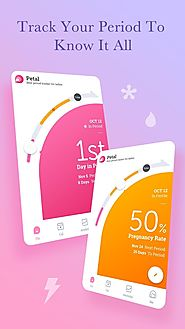 Period Tracker Petal, Period & Ovulation Calendar - Android Apps on Google Play