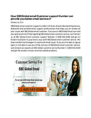 Dial SBCGlobal email customer support phone number