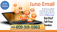 Contact us at Juno Email Service Number +1-800-518-0963