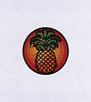 Fruity Pineapple Embroidery Design | EMBMall | Machine Design