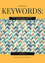 Amazon Hidden Keywords: How to Use This to Boost Discoverability by amy - issuu
