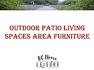 Outdoor Patio Living Spaces Area Furniture