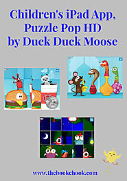 The Book Chook: Children's iPad App, Puzzle Pop HD by Duck Duck Moose