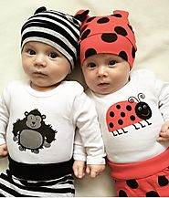 Monkey & Bee Special Romper, Hat & Pants Set for Baby Boys & Baby Girls - MyPreciousLittleOne