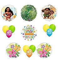 Disney Moana 15 pc Birthday Party Supplies Balloon Decoration Kit