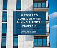 8 costs to consider when buying a rental property
