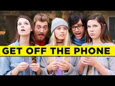 "Buick's ""Get Off The Phone"" Ad Has Comedy Duo Rhett & Link Urging People To Get #InTheMoment"