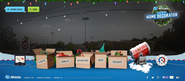 "Allstate's ""Holiday Home Decorator"" Site Lets You Decorate Your House, Then Mayhem Guy Destroys It"