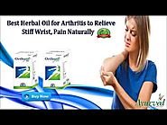 Anti Inflammatory Massage Oil for Arthritis to Relieve Stiff Neck Pain