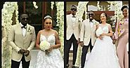 Actor Jim Iyke marries actress Roseline Muerer in a colourful wedding ceremony (photos)