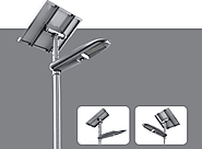 Save Commercial Energy using Integrated Solar Street Light