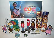 Disney Coco Movie Deluxe Party Favors Goody Bag Fillers Set of 15 with Figures, Tattoo, Sticker and Charm Featuring M...