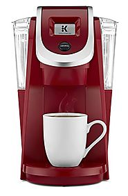 Keurig K250 Single Serve, K-Cup Pod Coffee Maker with Strength Control, Programmable, Imperial Red