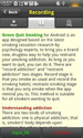Green Quit Smoking - Android Apps on Google Play