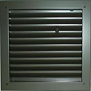 "Air Louver 1900a 24""(W) X 24""(H) Fire-Rated Door Vent 