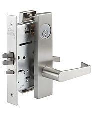PDQ MR174 mortise lock, non-cylinder-privacy with thumbturn both sides | Mortise Locksets | Amazing Doors & Hardware,...