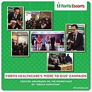 "Fortis Healthcare's ""More To Give"" Campaign"