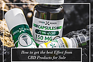 Enjoy mesmerizing effects of CBD products