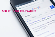 SEO 101: PAGE RELEVANCE!