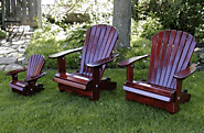 Top of the line wood species for Adirondack patio furniture