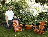 Baby-Sized Adirondack Chairs for Your Child to Enjoy