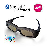 Buy Now 3D Active Glasses with Bluetooth Infra-Red Technology Light Weight Rechargeable at Lowest Price in Australia ...