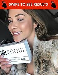 Giveaway Open Kit Snow Teeth Whitening