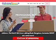 Contact details for the best packers and movers bangalore