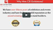 Why Hire CEI Exhibitions on Vimeo