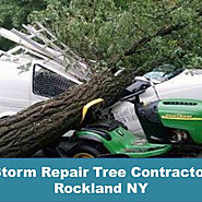 Storm Repair Tree Contractor Rockland NY
