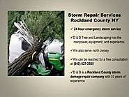 Storm Repair Services Rockland County NY