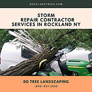 Storm Repair Contractor Services in Rockland NY