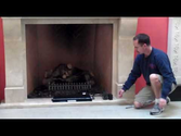 Wilshire Fireplace - Gas Log Remote Control
