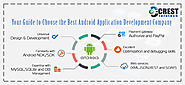 Your Guide to Choose the Best Android Application Development Company