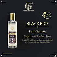 Black Rice Cleanser – Sulphate and Paraben Free