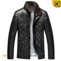 Mens Quilted Wilson Leather Jacket CW804078