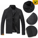Italian Spring Leather Jacket Men CW804076